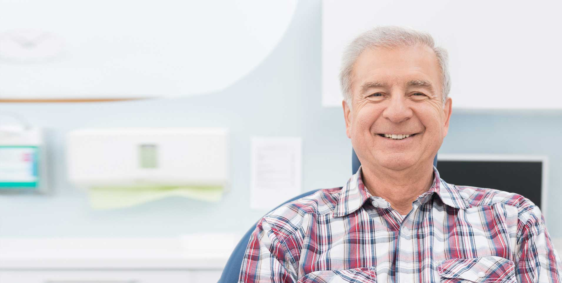 Happy Patient at ECPD | Dentist Downtown Calgary | Eau Claire Park Dental