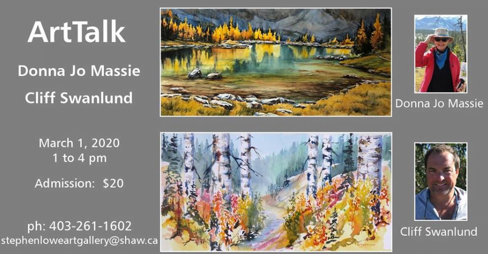 ArtTalk Banner | Dentist Downtown Calgary | Eau Claire Park Dental