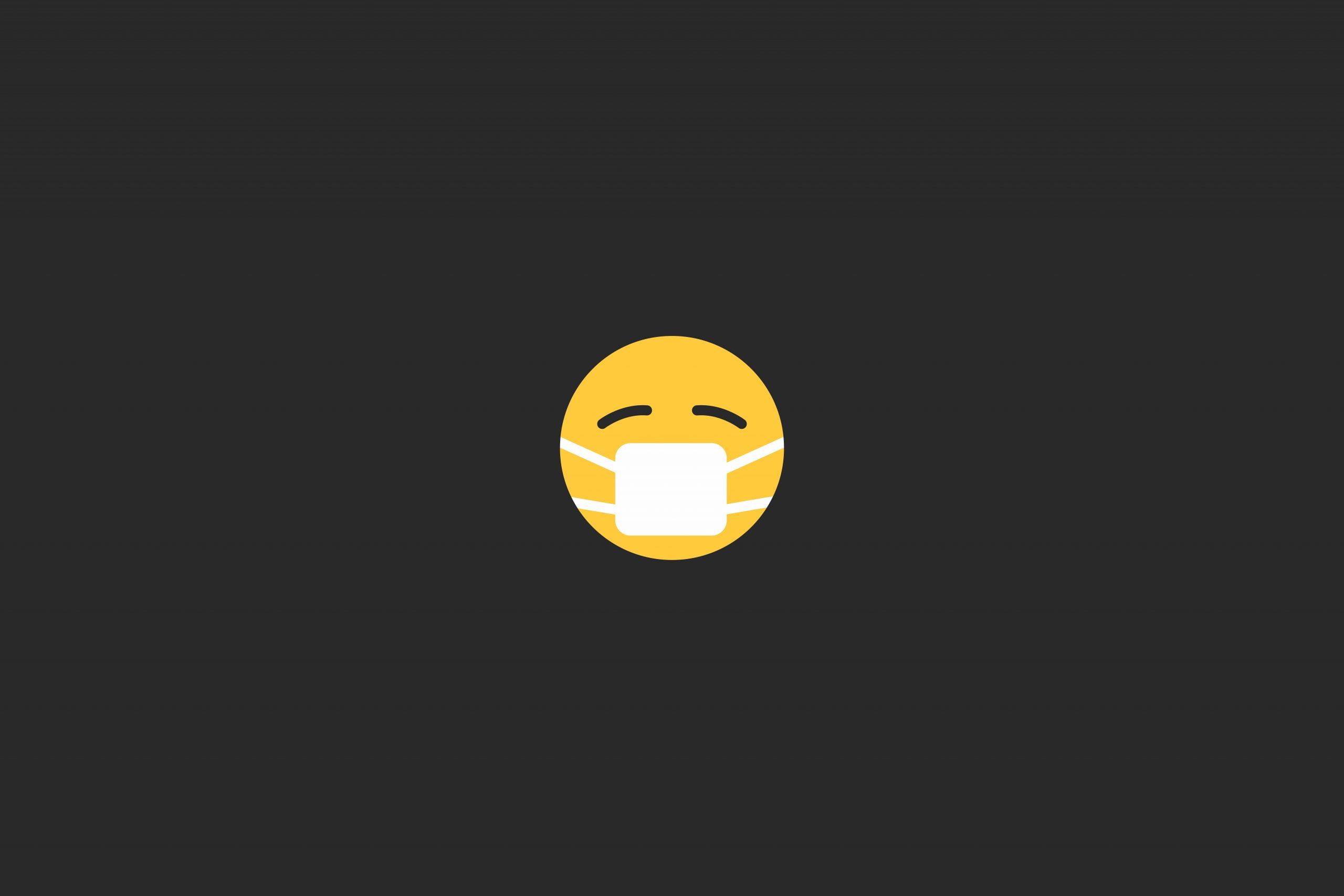 Mask Emoji | Dentist Downtown Calgary | Eau Claire Park Dental