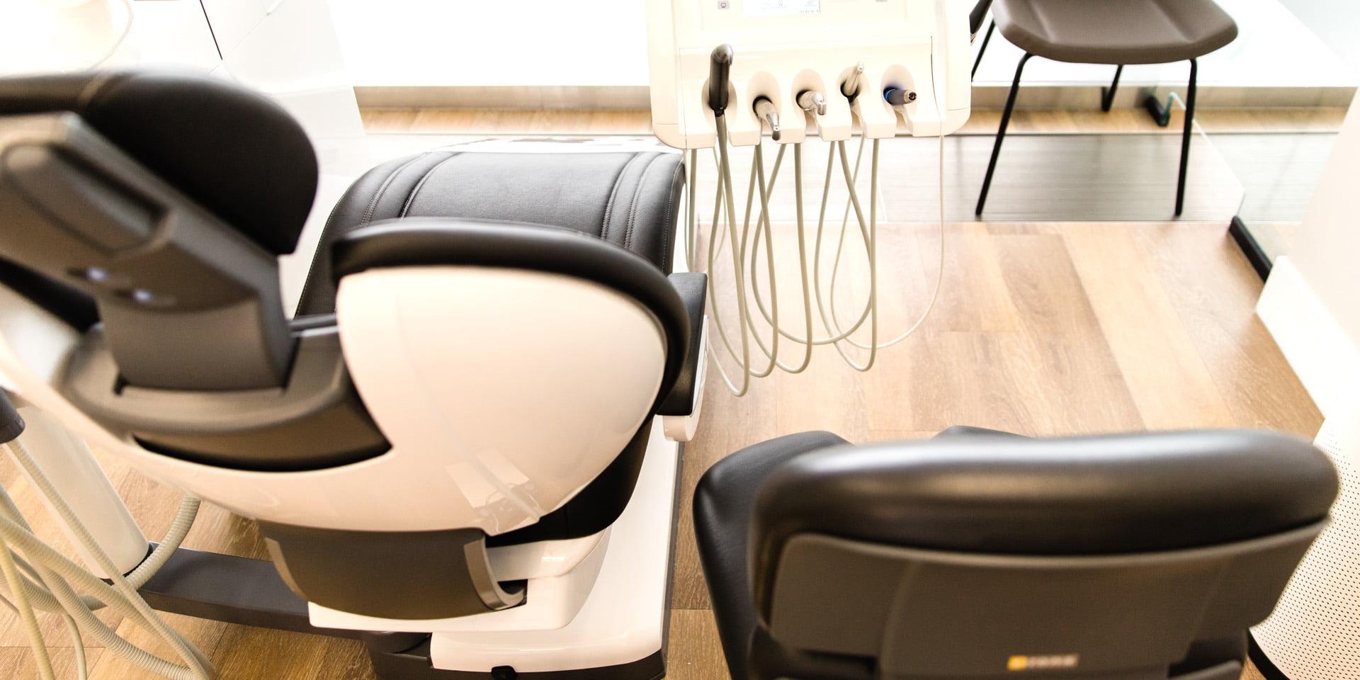 ECPD Dentist chairs | Dentist Downtown Calgary | Eau Claire Park Dental