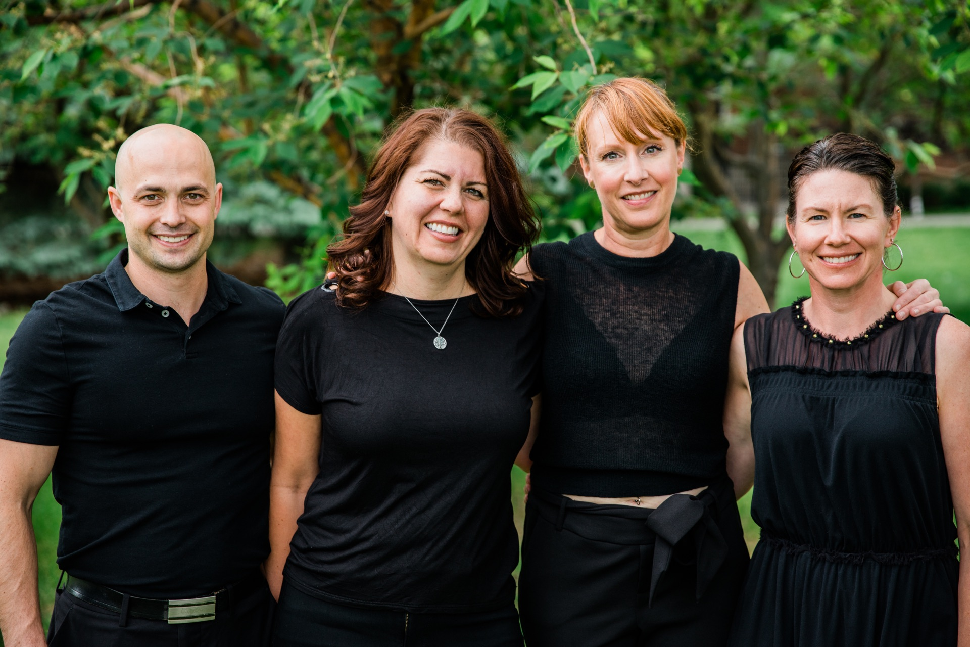 Jennifer, Christine, and Laura each bring over 20 years of experience | Dentist Downtown Calgary | Eau Claire Park Dental