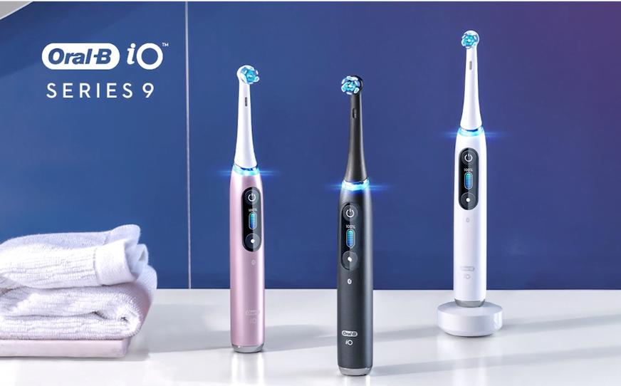Oral B iOS Series 9 Smart Brush | Dentist Downtown Calgary | Eau Claire Park Dental