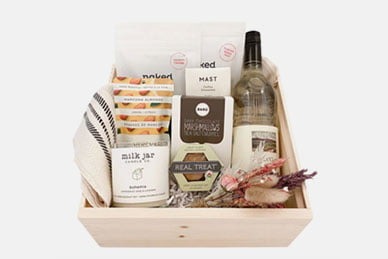gift box from BoxSmith | Dentist Downtown Calgary | Eau Claire Park Dental